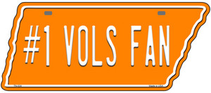 Number 1 Vols Fan Wholesale Novelty Metal Tennessee License Plate Tag TN-024
