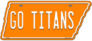 Go Titans Wholesale Novelty Metal Tennessee License Plate Tag TN-026