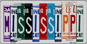 Mississippi License Plate Art Wholesale Metal Novelty License Plate