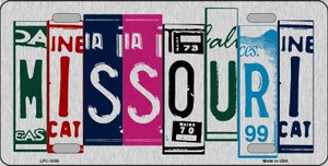 Missouri License Plate Art Wholesale Metal Novelty License Plate