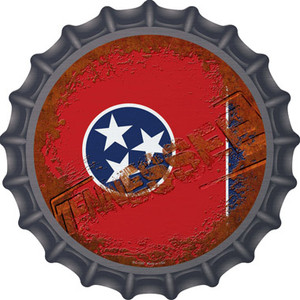 Tennessee Rusty Stamped Wholesale Novelty Metal Bottle Cap BC-1207