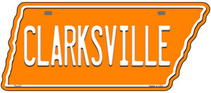 Clarksville Wholesale Novelty Metal Tennessee License Plate Tag TN-047