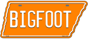 Bigfoot Wholesale Novelty Metal Tennessee License Plate Tag TN-056