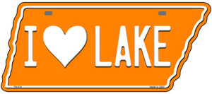 I Love Lake Wholesale Novelty Metal Tennessee License Plate Tag TN-074