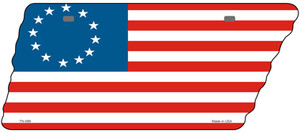 Betsy Ross American Flag Wholesale Novelty Metal Tennessee License Plate Tag TN-089