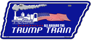 Trump Train Wholesale Novelty Metal Tennessee License Plate Tag TN-096