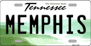 Memphis Tennessee Novelty Wholesale Metal License Plate