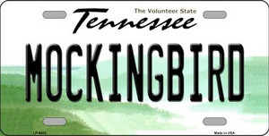 Mockingbird Tennessee Novelty Wholesale Metal License Plate