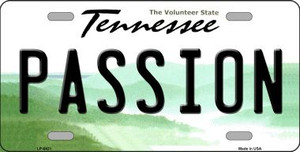 Passion Tennessee Novelty Wholesale Metal License Plate