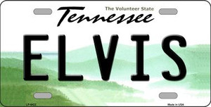 Elvis Tennessee Novelty Wholesale Metal License Plate