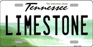 Limestone Tennessee Novelty Wholesale Metal License
