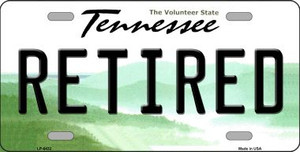 Retired Tennessee Novelty Wholesale Metal License Plate