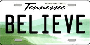 Believe Tennessee Novelty Wholesale Metal License Plate