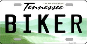 Biker Tennessee Novelty Wholesale Metal License Plate