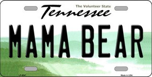 Mama Bear Tennessee Novelty Wholesale Metal License Plate