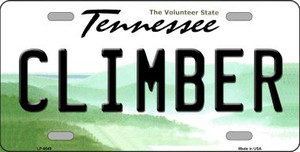 Climber Tennessee Novelty Wholesale Metal License Plate
