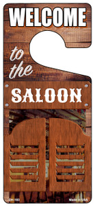 To The Saloon Wholesale Novelty Metal Door Hanger DH-183