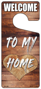 To My Home Wholesale Novelty Metal Door Hanger DH-185