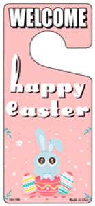 Happy Easter Wholesale Novelty Metal Door Hanger DH-196