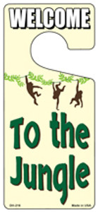 To The Jungle Wholesale Novelty Metal Door Hanger DH-216