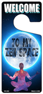 To My Zen Space Wholesale Novelty Metal Door Hanger DH-222
