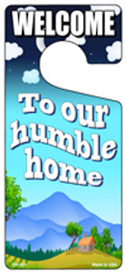To Our Humble Home Wholesale Novelty Metal Door Hanger DH-223