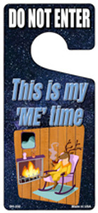This Is My Me Time Wholesale Novelty Metal Door Hanger DH-232