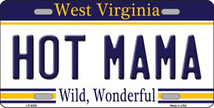 Hot Mama West Virginia Novelty Wholesale Metal License Plate