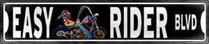 Easy Rider Wholesale Novelty Metal Street Sign ST-1472
