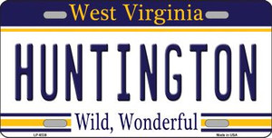 Huntington West Virginia Novelty Wholesale Metal License Plate