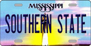 Southern State Mississippi Novelty Wholesale Metal License Plate