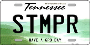 Stomper Wholesale Novelty Metal License Plate Tag LP-13642