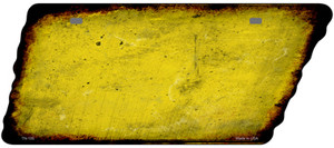 Yellow Solid Wholesale Novelty Rusty Effect Metal Tennessee License Plate Tag TN-105