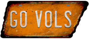Go Vols Wholesale Novelty Rusty Effect Metal Tennessee License Plate Tag TN-122