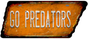 Go Predators Wholesale Novelty Rusty Effect Metal Tennessee License Plate Tag TN-130