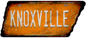 Knoxville Wholesale Novelty Rusty Effect Metal Tennessee License Plate Tag TN-139