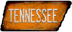 Tennessee Wholesale Novelty Rusty Effect Metal Tennessee License Plate Tag TN-143