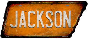 Jackson Wholesale Novelty Rusty Effect Metal Tennessee License Plate Tag TN-148