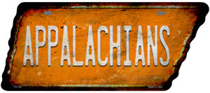 Appalachians Wholesale Novelty Rusty Effect Metal Tennessee License Plate Tag TN-150