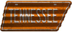 Tennessee Wholesale Novelty Corrugated Effect Metal Tennessee License Plate Tag TN-243