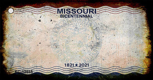 Missouri Bicentennial Wholesale Novelty Metal Key Chain KC-13655