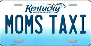 Moms Taxi Kentucky Novelty Wholesale Metal License Plate
