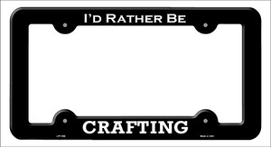 Crafting Wholesale Novelty Metal License Plate Frame LPF-056