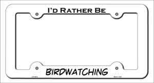 Birdwatching Wholesale Novelty Metal License Plate Frame LPF-057