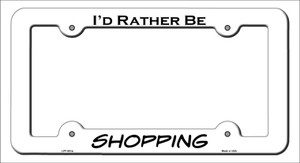 Shopping Wholesale Novelty Metal License Plate Frame LPF-061