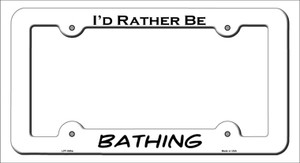 Bathing Wholesale Novelty Metal License Plate Frame LPF-065