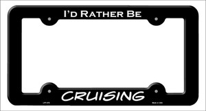 Cruising Wholesale Novelty Metal License Plate Frame LPF-078