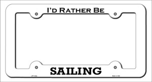 Sailing Wholesale Novelty Metal License Plate Frame LPF-123