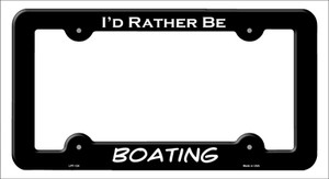 Boating Wholesale Novelty Metal License Plate Frame LPF-124
