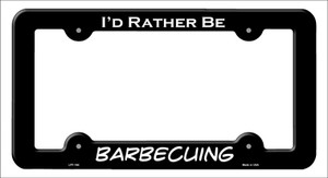 Barbecuing Wholesale Novelty Metal License Plate Frame LPF-164